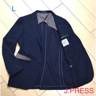 J.PRESS - ジェイプレス×エアーリネン★高級ネイビー織りアンコンジャケット 春夏 A675