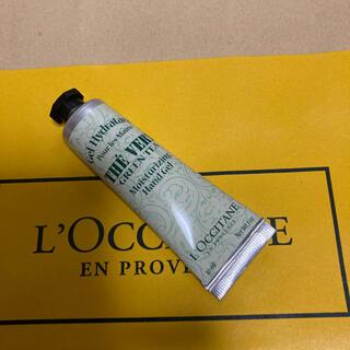ロクシタン(L'OCCITANE)のロクシタングリーンティーハンドクリーム(ハンドクリーム)