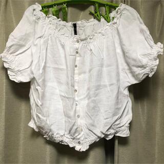 ザラ(ZARA)のZARA tops(カットソー(半袖/袖なし))