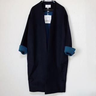 エンフォルド(ENFOLD)の新品 エンフォルド オーバーサイズ ウールコート(ロングコート)