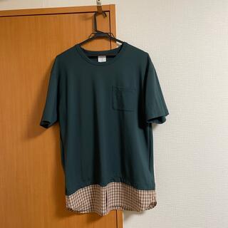 アタッチメント(ATTACHIMENT)のMisterGentlemanの切り替えシャツ(シャツ)