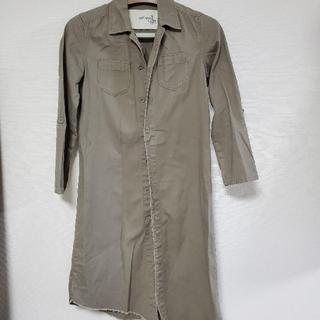 アンティカ(antiqua)のアンティカワークシャツジャケット(ミリタリージャケット)