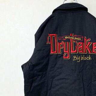 スイングトップ ワークジャケット 90年代 古着 ワンポイント刺繍 レア 美品(ブルゾン)