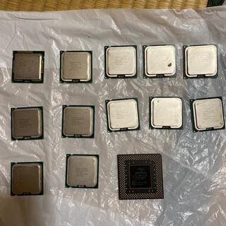 インテレクション(INTELECTION)のCPUまとめ売り 13個セット INTEL インテルcore(PCパーツ)