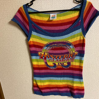 ヒステリックグラマー(HYSTERIC GLAMOUR)のヒステリックグラマー サマーニットTシャツ(カットソー(半袖/袖なし))