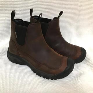 キーン(KEEN)の美品★レディース ブーツ 防水 KEEN 24cm サイズ7  ブラウン(ブーツ)