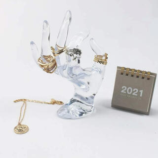 ザラホーム(ZARA HOME)の新品)指輪 ディスプレイスタンド!! (無印が好きな方におすすめです!)(彫刻/オブジェ)