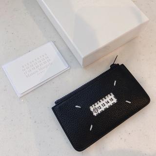 マルタンマルジェラ(Maison Martin Margiela)の☆☆maison margiela☆S21-S21 レザーカードケース 未使用(コインケース/小銭入れ)