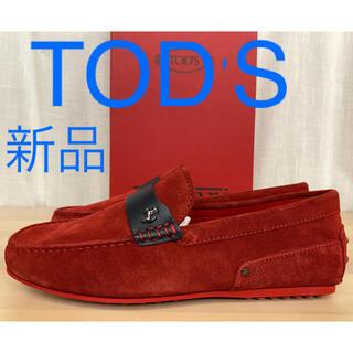 トッズ(TOD'S)の新品 Tod's トッズ フェラーリ コラボ シティーゴンミーニ ローファー(スリッポン/モカシン)