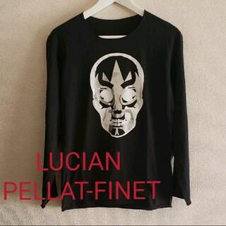 ルシアンペラフィネ(Lucien pellat-finet)のLUCIAN PELLAT-FINETスカルプリントロンT sizeS(Tシャツ/カットソー(七分/長袖))