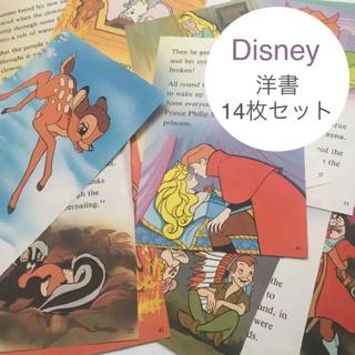 ディズニー(Disney)のDisney 洋書 コラージュペーパー 14枚セット ディズニー(その他)