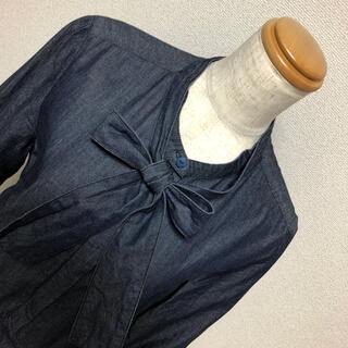 コントワーデコトニエ(Comptoir des cotonniers)のボウタイワンピ(ひざ丈ワンピース)