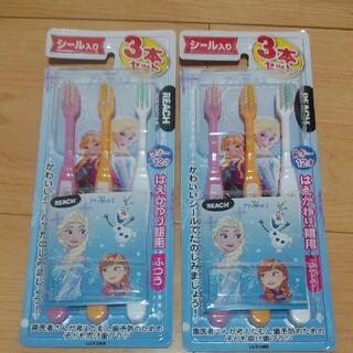 ディズニー(Disney)のディズニー アナと雪の女王 歯ブラシ セット(歯ブラシ/デンタルフロス)