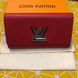 ルイヴィトン(LOUIS VUITTON)の極美品 ルイヴィトン ポルトフォイユ ツイスト 長財布(財布)