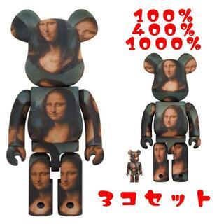 メディコムトイ(MEDICOM TOY)のBE@RBRICK LEONARD DE VINCI Mona Lisa1/2(その他)