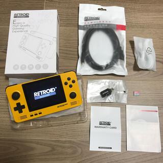 ニンテンドースイッチ(Nintendo Switch)の⭐︎動作確認のみ!retroid pocket 2 オレンジ  +32GB (携帯用ゲーム機本体)