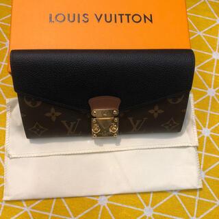 ルイヴィトン(LOUIS VUITTON)のLOUIS VUITTON 二つ折り長財布 (財布)