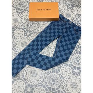 ルイヴィトン(LOUIS VUITTON)の超美品 ルイヴィトン ダミエ デニムパンツ 40インチ(デニム/ジーンズ)