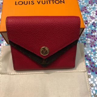 ルイヴィトン(LOUIS VUITTON)のルイ ヴィトン ポルトフォイユ ドゥブルV コンパクト(財布)