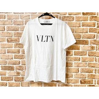 ヴァレンティノ(VALENTINO)のVALENTINO ヴァレンティノ Tシャツ VLTNロゴ 白 ホワイト S(Tシャツ(半袖/袖なし))
