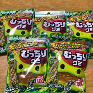 ユーハミカクトウ(UHA味覚糖)のUHA味覚糖 むっちりグミ ライフガード味 5袋(菓子/デザート)