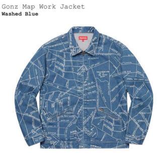 シュプリーム(Supreme)のSupreme Gonz Map Work Jacket(Gジャン/デニムジャケット)