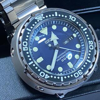 セイコー(SEIKO)のSEIKO プロスペックスダイバー ツナ缶 ブルー SBBN037 美品(腕時計(アナログ))