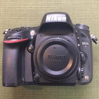 ニコン(Nikon)のNikon D610(デジタル一眼)