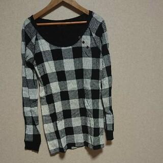 エルビーゼロスリー(LB-03)のLB-03 ブロックチェックトップス(Tシャツ(長袖/七分))