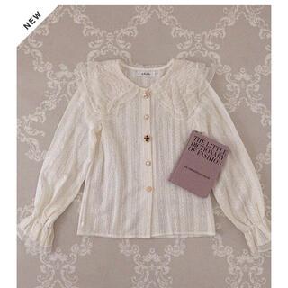 ティティアンドコー(titty&co)の【最終値下げ】&lottie bijou button lace blouse(シャツ/ブラウス(長袖/七分))