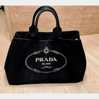プラダ(PRADA)の※最終値下げ プラダ PRADA カナパ ブラック Mサイズ(トートバッグ)