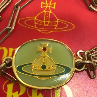 ヴィヴィアンウエストウッド(Vivienne Westwood)のヴィヴィアン エナメルオーブ ボタン ネックレス (ネックレス)