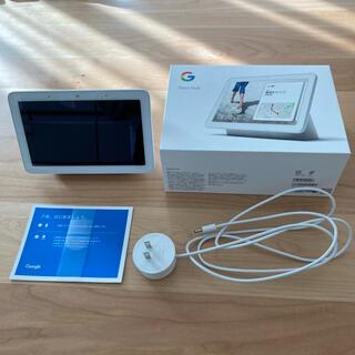 グーグル(Google)のGoogle nest hub(グーグルネストハブ)(ディスプレイ)