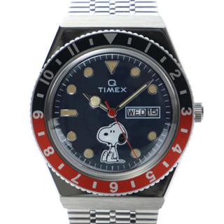 タイメックス(TIMEX)の即完売プレミア TIMEX Q PEANUTS70周年記念スヌーピー未使用新品(腕時計(アナログ))