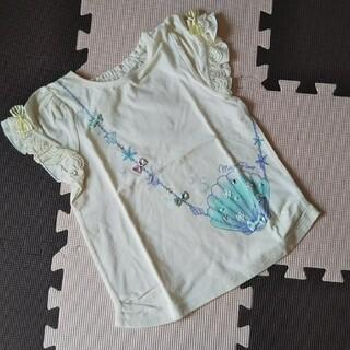 メゾピアノ(mezzo piano)の新品 メゾピアノ Tシャツ 貝殻 魚 120(Tシャツ/カットソー)