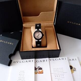 ブルガリ(BVLGARI)のブルガリ アルミニウム AL32 TA 付属品完備 訳あり BVLGARI (腕時計(アナログ))