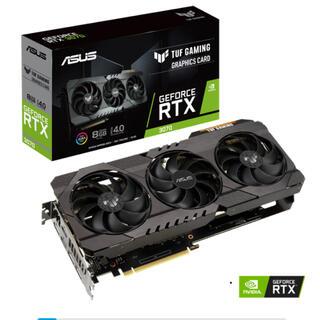 エイスース(ASUS)のGFORCE RTX 3070 TUF Gaming(PCパーツ)