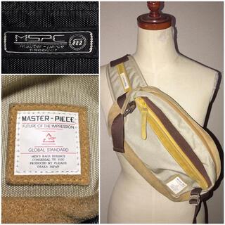 エムエスピーシー(MSPC)のMSPCマスターピース送料込¥定価2万円程レザー革ボディバッグ鞄カバンショルダー(ボディーバッグ)