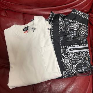 ミハラヤスヒロ(MIHARAYASUHIRO)のGU ミハラヤスヒロマウンテンパーカーとTシャツ2枚セット XL(マウンテンパーカー)