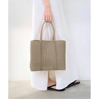 アパルトモンドゥーズィエムクラス(L'Appartement DEUXIEME CLASSE)のL'Appartement PALOROSA Flat Tote Bag (S)(かごバッグ/ストローバッグ)