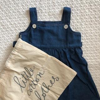 キャラメルベビー&チャイルド(Caramel baby&child )の little cotton clothes ワンピース(ワンピース)