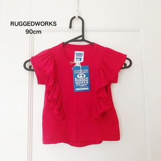 コドモビームス(こども ビームス)のRUGGEDWORKS  フリル Tシャツ 90cm(Tシャツ/カットソー)