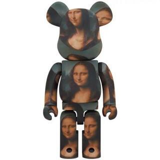 完全未開封 BE@RBRICK Mona Lisa 400% 100% モナリザ(その他)