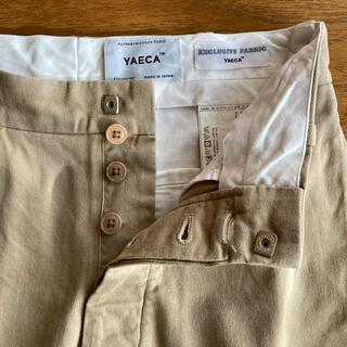 ヤエカ(YAECA)の【最終お値下げ】YAECA ワイドテーパードチノ 29(チノパン)