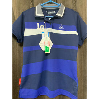 ルコックスポルティフ(le coq sportif)のレディースゴルフle coq sportif ルコックポロシャツLサイズ(ポロシャツ)