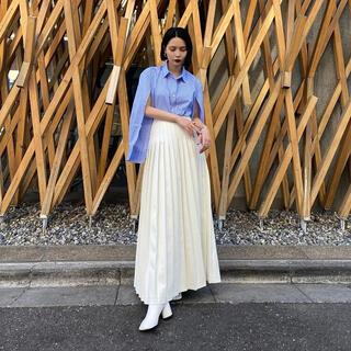 アメリヴィンテージ(Ameri VINTAGE)のSheer SENS skirt(ロングスカート)
