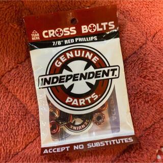インディペンデント(INDEPENDENT)のindependent インディ カラービス スケボー小物 赤 レッド (スケートボード)