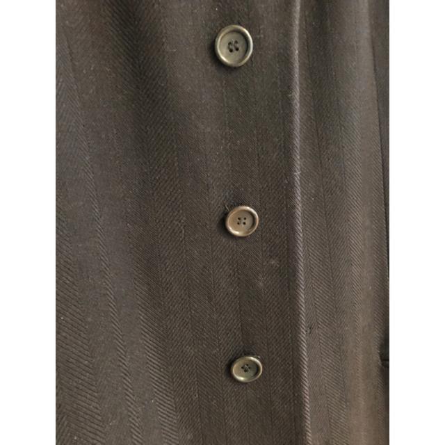 ARMANI COLLEZIONI(アルマーニ コレツィオーニ)のswing様 専用 ARMANI (アルマーニ)ロングコート メンズのジャケット/アウター(チェスターコート)の商品写真