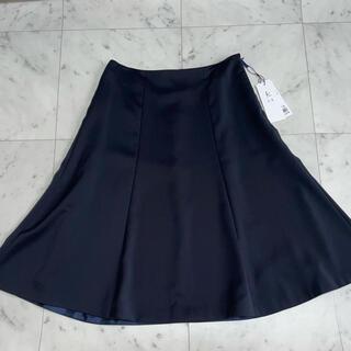 クミキョク(kumikyoku(組曲))の新品 KUMIKYOKU 組曲 スカート 1 濃紺(ひざ丈スカート)