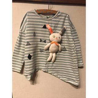 アニカ(annika)のAnnika(アニカ)ボーダーカットソー 100-110サイズ(Tシャツ/カットソー)